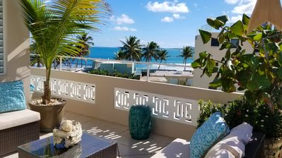 Photo for Couple's retreat steps from beautiful Luquillo Beach