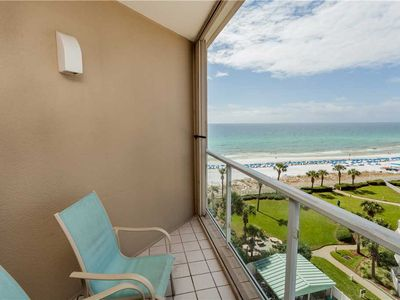 Photo for Cozy Modern Studio Style W/ Beach view private balcony!