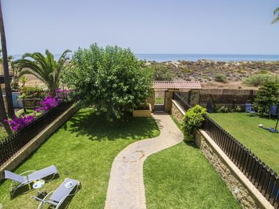 "Photo for Apartment a short walk away (92 m) from the ""Playa de Los Monteros"" in Marbella with Internet, Pool, Air conditioning, Parking (505773)"