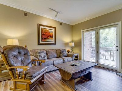 Photo for Baskins Creek 106 Luxury Condo | Walk to Gatlinburg | Wi-Fi | Fitness Room | Seasonal Community Pool