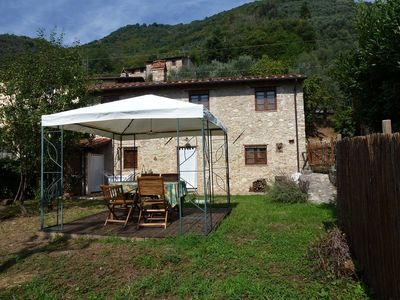 Photo for Idyllic Rustico 2 bedrooms. Bathroom, garden. Dogs welcome. Quiet location