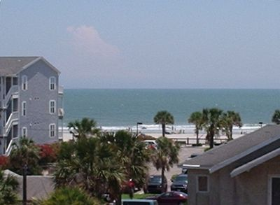 Beach view from deck