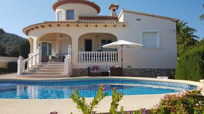 Photo for VILLA IN DENIA MONTGO WITH PRIVATE SWIMMING POOL EXCEPTIONAL VIEW ON SEA AND MOUNTAIN