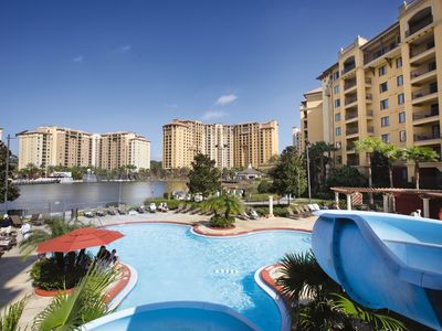 Photo for Two Bedroom Deluxe Condo at Bonnet Creek (A284)