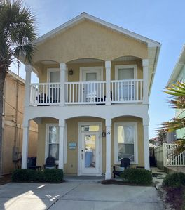 Photo for 250 Steps to the Beach! Spacious Home!  2 KINGS - 3 QUEENS - SLEEPS 10!