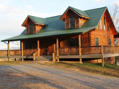 Photo for This property is located on a 65 acre farm on the Shenandoah River.