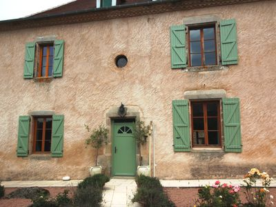 Photo for Lovely Maison Bourgeoise With Heated Pool In Heart Of Dordogne Village