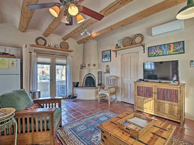 Photo for Santa Fe Adobe Home w/Patio-Walk to Downtown Plaza