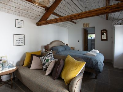Photo for 5* Romantic hideaway, beautifully restored bothy, bed and breakfast, Ullswater