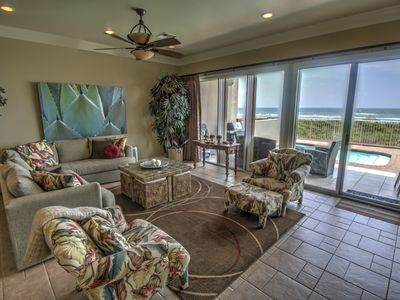 Photo for Oasis- Oceanfront, Beach Luxury with Private Pool & Beach Access