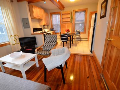 Photo for Charming 2 beds 1 bath Best location in the Heart of Little Italy Boston