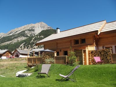 Photo for The Longet, new charming chalet in Névache ... will seduce you with its size