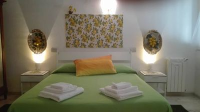 Photo for Cozy apartment furnished by artist and equipped with all comforts