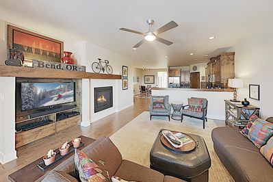 Living Area - Welcome to Bend! This townhome is professionally managed by TurnKey Vacation Rentals.