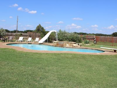 Photo for Ranch House on a private ranch , an Oasis in the Country 20 mins from Fort Worth