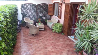 Photo for Family house 2 steps from the beach (Taormina Mare)