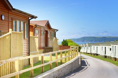 Bovisand Lodge Holiday Park - view to the beach