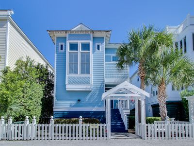 Photo for Beach cottage with preservation area views and shared pools, walk to the beach!