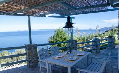 Photo for Villa in Glossa With Private Pool and Views to Aegean