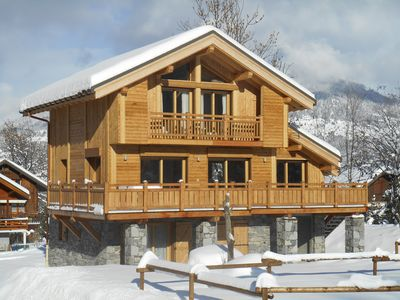 Photo for Charming and comfortable chalet in Méribel