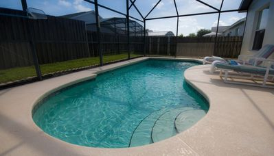 Photo for Lovely 3 bed 2 bath pool home at Indian Ridge Oaks close to Disney
