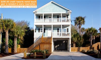 Photo for 1118A West Ashley Avenue >>> 1 block from beach access & Center St.