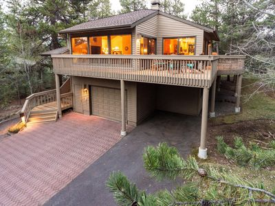 Photo for 2 Master Suites Upscale! Remodeled, A/C Fabulous Deck SHARC Walk to Ft Rock Park