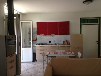 Photo for Apartment situated in the hill of olive trees where the animals are welcome