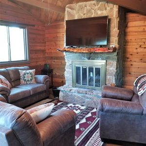 Photo for Relax Among the Tall Pines!  Hot Tub,  Central A/C, WiFi