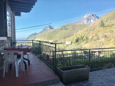 Photo for Idyllic location with panoramic view - Rustico Pietre Antiche, Apartment 1
