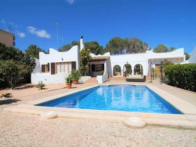 Photo for CASA GARONDA- House in Cala Pi, Internet. 6/7 pax. Private pool. Air Conditioning- - Free Wifi