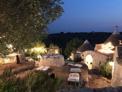 Photo for 3 independent suites of charm and design in an ancient complex of trulli