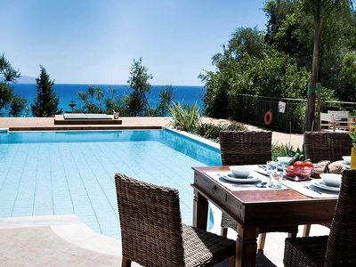 Photo for Bay Villa with Private Pool and Sea Views