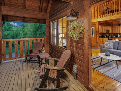 Photo for Elegantly Designed Cabin Minutes From Dollywood