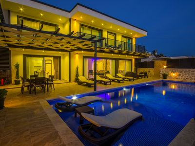 Photo for Luxurious Three  Bedroom Villa with Large Infinity Pool and Panoramic Sea Views