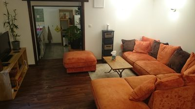 Photo for cozy garden apartment in privileged surroundings