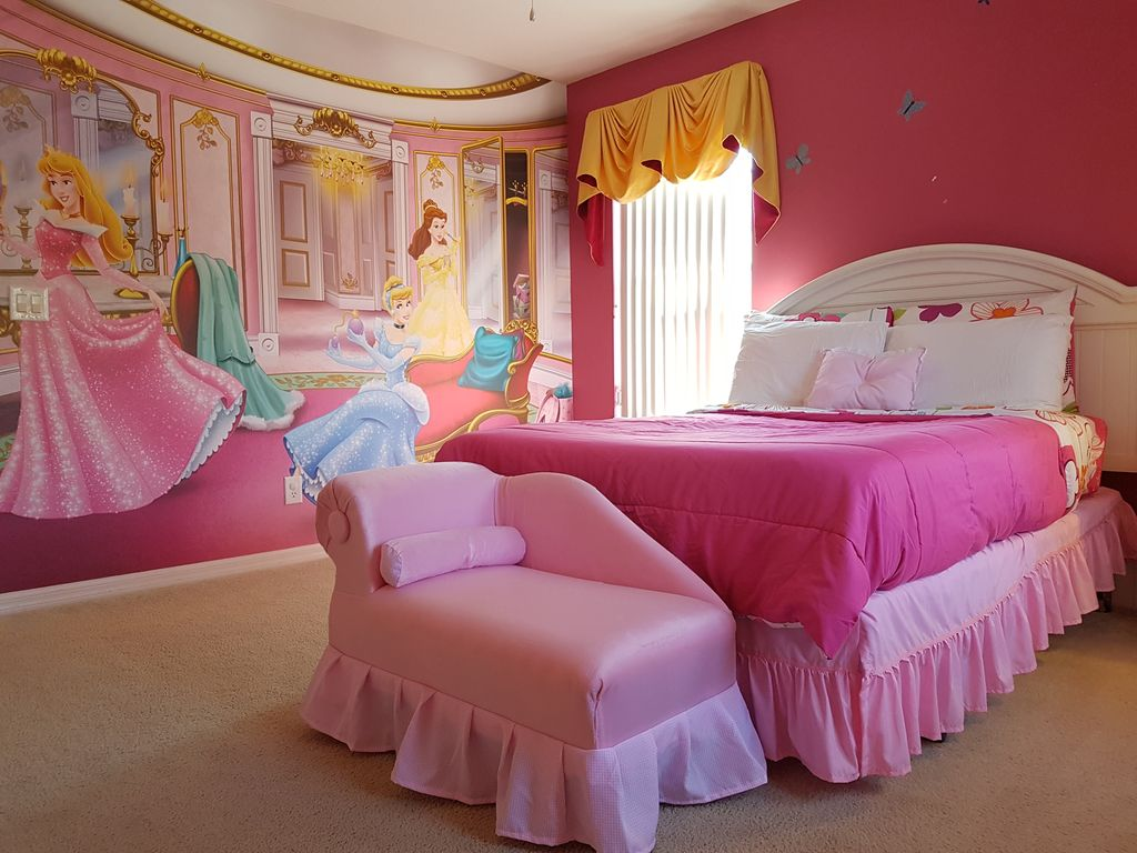 Disney themed bedroom - Disney Themed Rooms South Facing Pool 15 Minutes To All Major Attractions