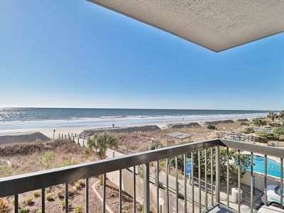 Photo for Waterpointe1 1007 - Windy Hill - Ocean Front - Views - Pools