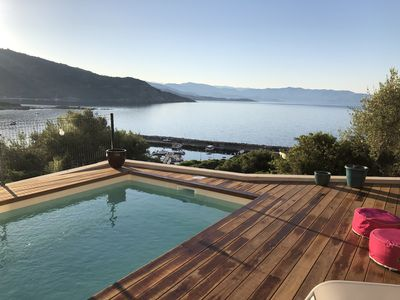 Photo for CARGESE VILLA NEAR THE PORT PANORAMIC VIEW