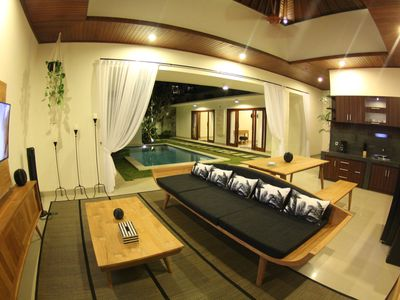 Photo for Stylish 2BR Villa next to Seminyak Beach w/ private pool - Venyia