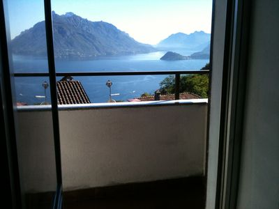 Photo for Apartment with wonderful views of the lake and mountains, Wifi internet