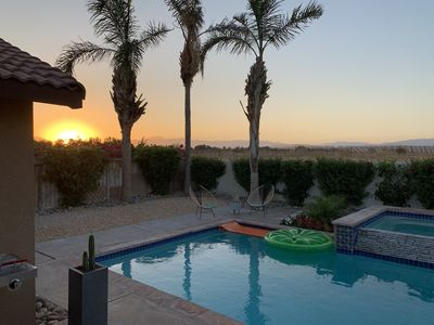 Photo for Beautiful Pool Home in Palm Springs area..