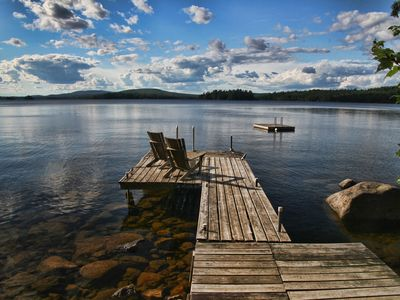 Photo for Lake Home in Acadia Region