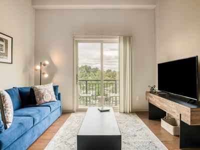 Photo for Private Apartment with a Balcony in Downtown Greenville