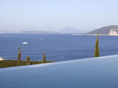 Photo for Luxury Villa with Heated Infinity Pool, Spectacular Sea Views, Great Location
