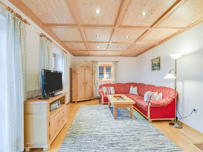 Photo for Beautiful Holiday Apartment Morgenrot with Mountain View, Wi-Fi, Balcony & Garden; Parking Available