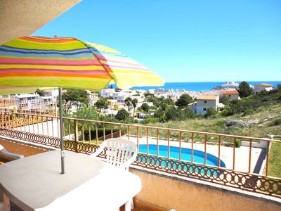 Photo for CASA TINOS - Modern apartment sleeps 6 Near the sea, panoramic view of Peniscola, free Wifi