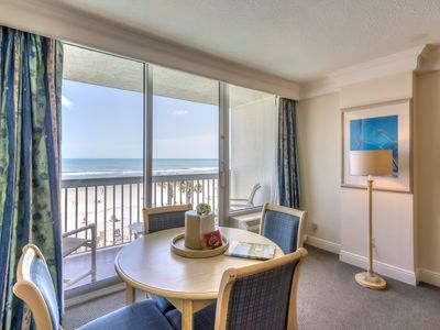 Photo for Daytona Beach Ocean Front with Private Balcony #346
