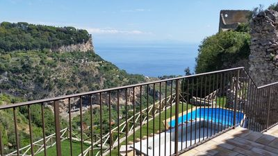 Photo for Villa Amì, Relais overlooking the sea, on RAVELLO and ATRANI.(Complete Villa)