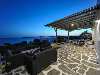 Photo for White Villas Paros 7br upto 16guests 150m from the beach!